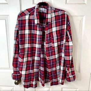 NWT XL OLD NAVY PLAID FLANNEL SHIRT